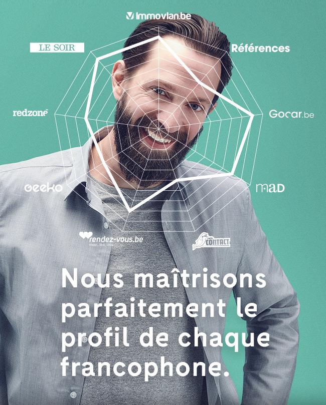 Nous maîtrisons parfaitement le profil de chaque francophone.